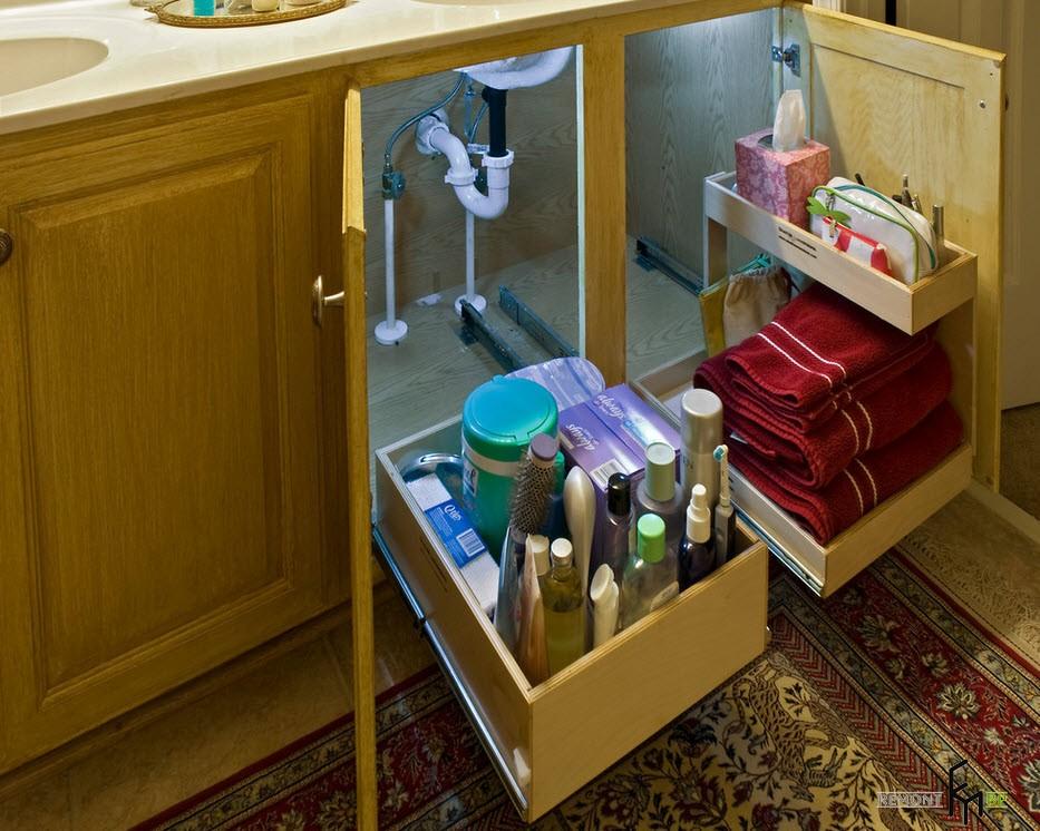 Ящик для белья ванной своими руками