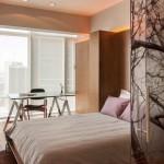 Дизайн-проект небольшой квартиры в Мехико площадью 90 кв. м.