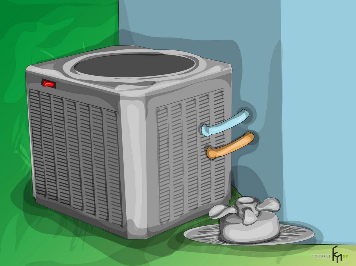 Второйспособ чистки кондиционера, третий шаг